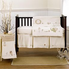 Nature's Purest™ Sleepy Safari Crib Bedding & Accessories