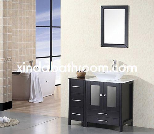 39 best wood bathroom vanity images on pinterest timber Quality bathroom vanities arlington tx