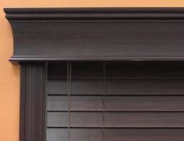 """Limited Editions 5 1/2"""" Estate Wood Cornice"""