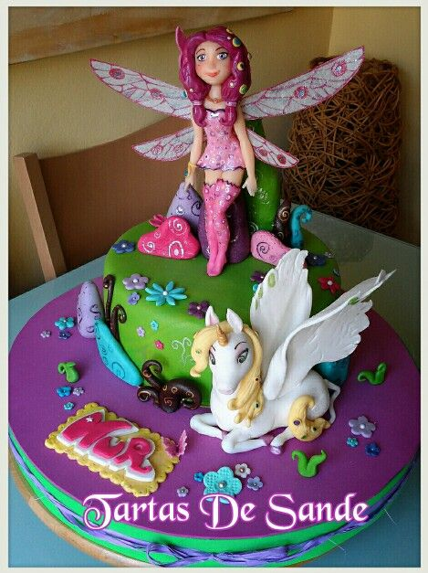 Mia and Me cake by Tartas De Sande  https://es-la.facebook.com/TartasDeSande