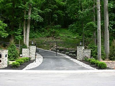 Ornamental Wrought Iron Driveway Gates. We ship anywhere! amazinggates.com