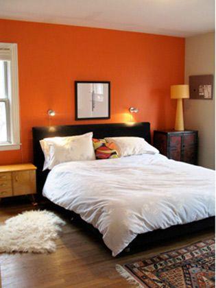 """Uma cor que propicia a intelectualidade, a criatividade e a vitalidade.<br>Veja mais <a href=""""http://bbel.com.br/decoracao/post/bbel-viu-e-gostou/ambientes-com-parede-laranja"""">decorações com parede laranja</a>."""