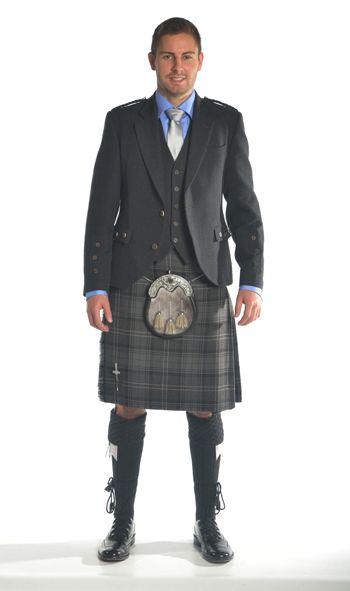 Holyrood Kilt Hire Outfit