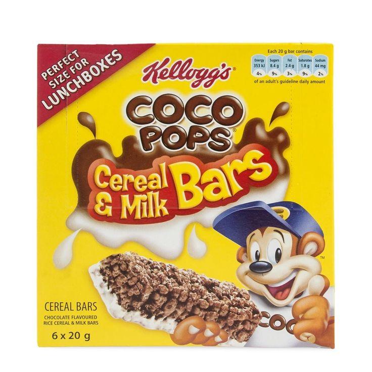 Kellogg's Coco Pops Cereal & Milk Bars