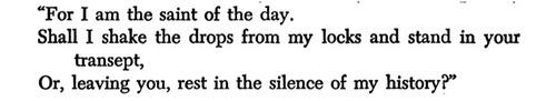 —Thomas Merton, POETRY, February 1949