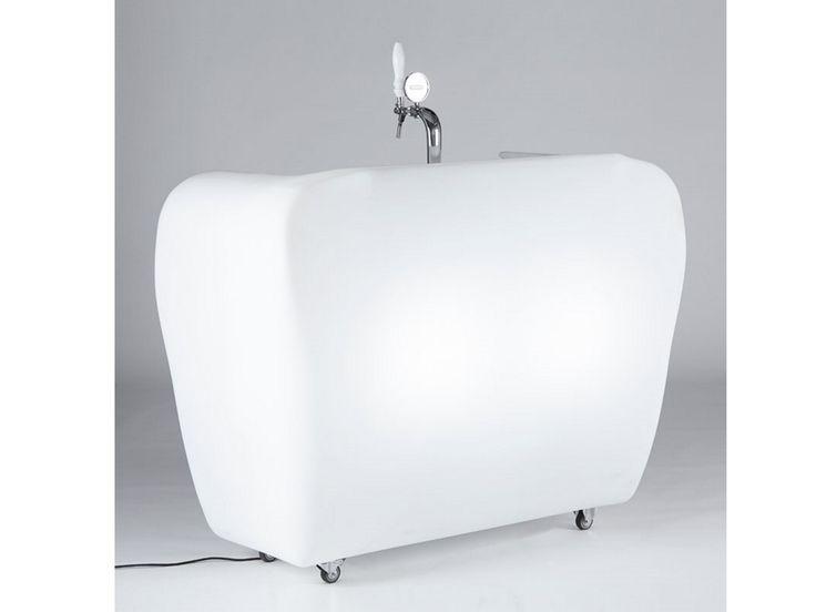Slide Design Beleuchtete Theke Roller Bar kaufen im borono Online Shop