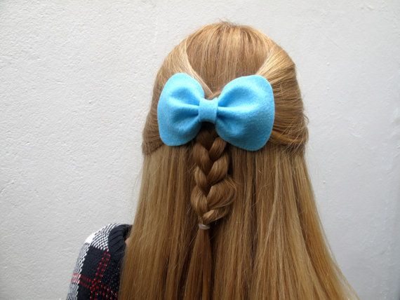 Small Betty Bow // Spring Collection Felt Hair by hellobettybow