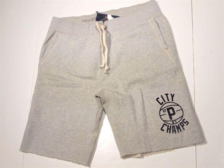 Polo Ralph Lauren men's fleece shorts size large  NEW  #PoloRalphLauren #Athletic