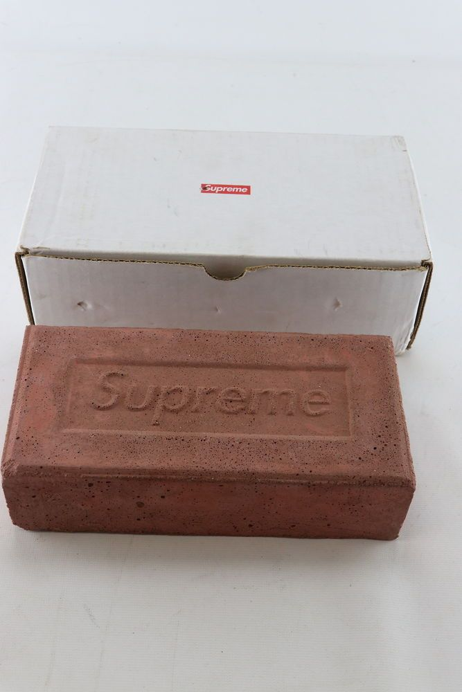Ebay Sponsored Supreme Clay Brick Red Fw16 With Original Box Rare