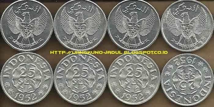 Baru Tahu Ternyata Ada Tulisan Arab di Mata Uang Koin Indonesia Cetakan Tahun 1952