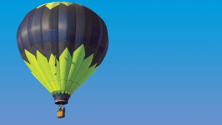 HOT AIR BALLOON RIDE FOR FOUR PEOPLE