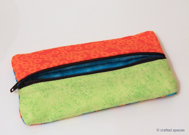 Crafted Spaces: Sewing a Pencil Case