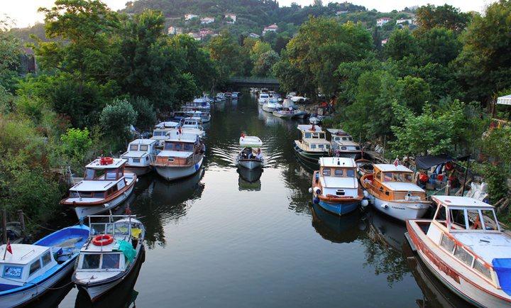 Istanbul, Beykoz, Göksu deresiAnadoluhisari Istanbul