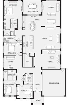 Grandview New Home Floor Plans Interactive House Plans Metricon Homes South Australia