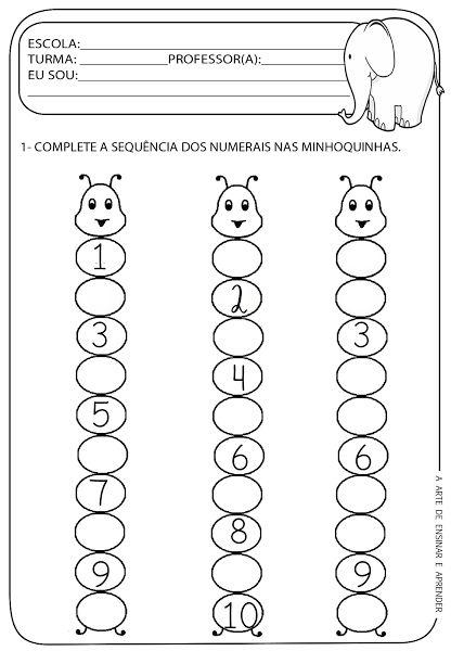 Atividade pronta - Sequência numérica
