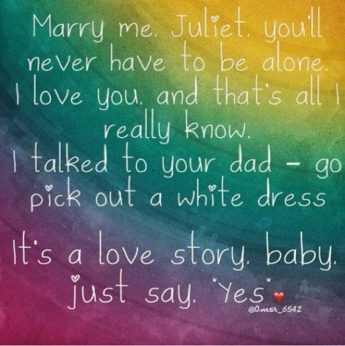 """Taylor Swift """"Love Story"""" On"""
