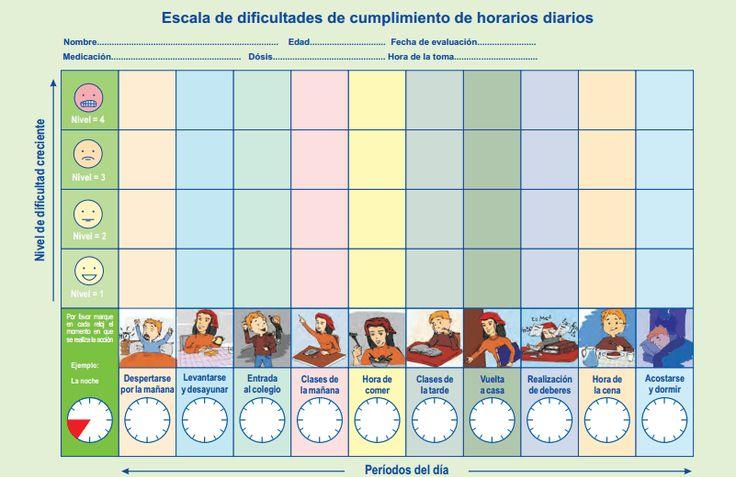 TDAH Cuaderno de seguimiento de conductas