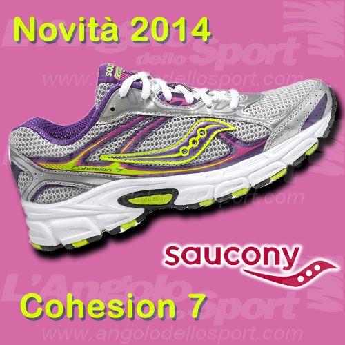 Novità #Saucony Cohesion 7 #running www.facebook.com/angolodellosport