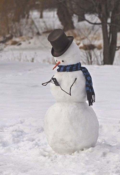 Bonhomme de neige : 20 bonhommes de neige originaux