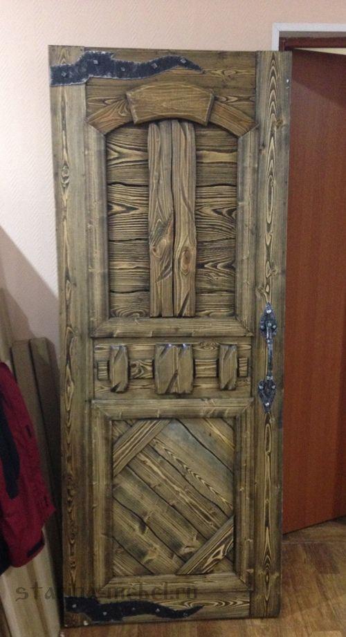 """Двери из состаренного дерева  """"Ричард"""". Очень красиво. Необычно и завораживающе"""