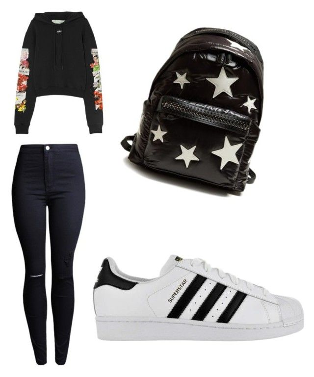 """""""Untitled #110"""" by anais-maria on Polyvore featuring Off-White, adidas and STELLA McCARTNEY"""