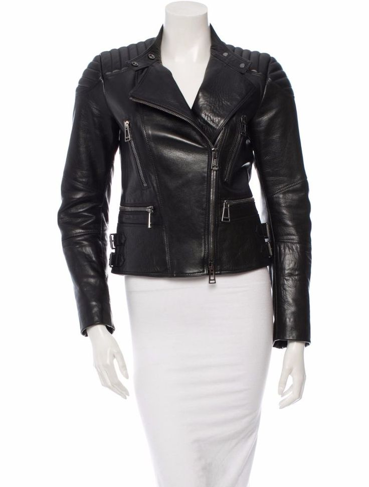 Belstaff Sidney Leather Jacket- Women #Belsaff #Motorcycle