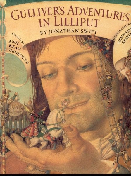 a book review of gullivers travels by jonathan swift Bookpage review by deborah hopkinson  there's much more to gulliver's  travels, of course, than simply an adventure story swift's novel was a scathing  political and social satire, a biting critique of political events in england and  ireland,.