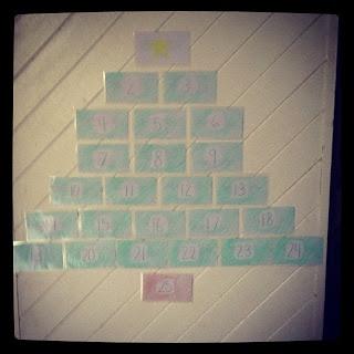 Christmas Countdown Tree {Advent}