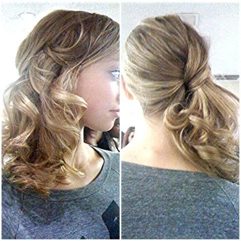 Bat Mitzvah Hairstyles 40 Best Bar Mitzvah Hair Images On Pinterest  Wedding Hair Styles