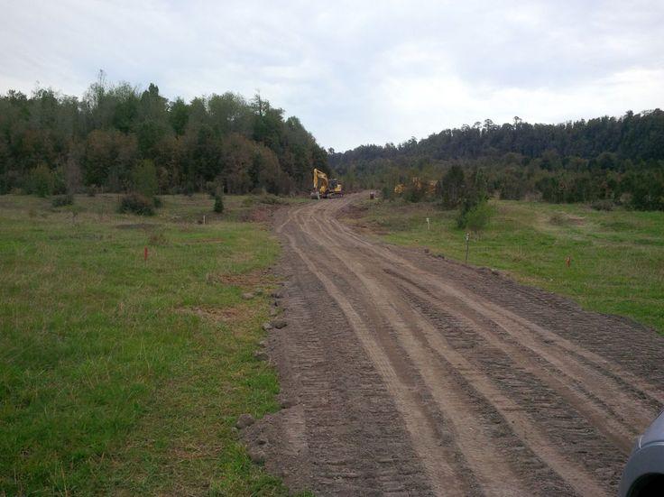 Construcción Camino Accesos Interiores Etapa 1