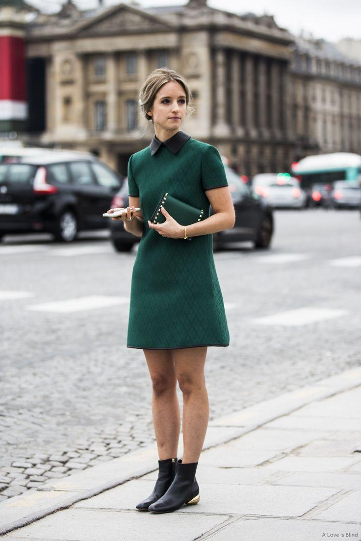 nod to mod. Charlotte in Paris. #TheFashionGuitar