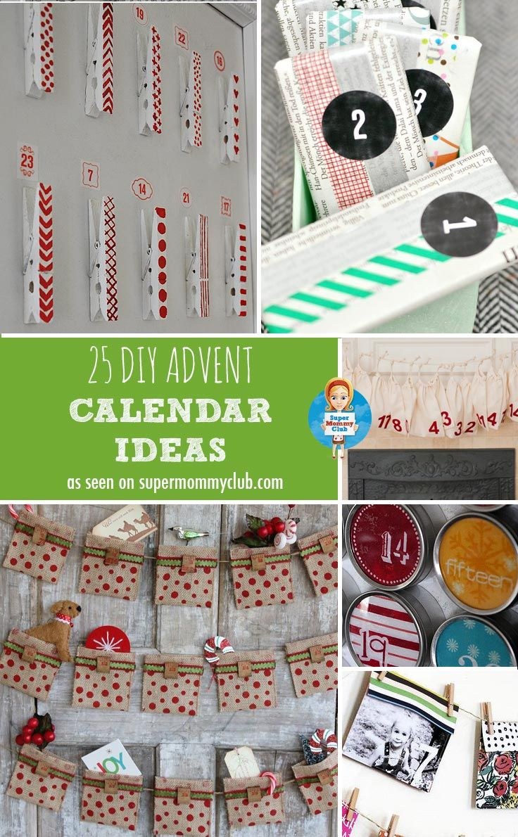 Diy Calendar Countdown : Best advent calendars and ideas images on pinterest