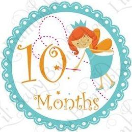 Felices 10 meses, Maia - Soy Mama Blog