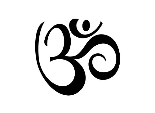 """Embrace your inner """"Om."""" The Aum symbol represents the three states of sleeping, dreaming and waking. - Tattoo Size 2"""" x 2"""" - 2 Tattoos Included Photo courtesy of Nicole Doherty of NicoleDoherty.com P"""