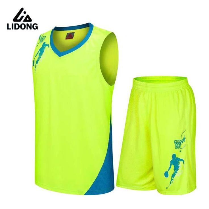 2017 New Kids Basketball Jersey Sets Uniforms kits Child Sports clothing Breathable Youth basketball jerseys shorts DIY printing