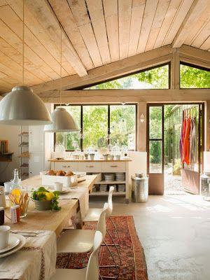17 mejores ideas sobre Cocinas De Casa De Campo Francesa en ...