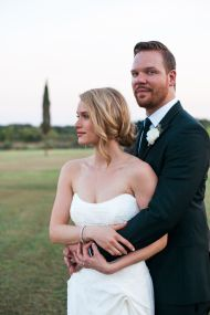 Leven Rambin + Jim Parrack's Al Fresco Texas Wedding - Style Me Pretty