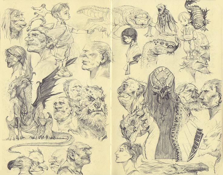 doodles. 2013 2b pencil on moleskine