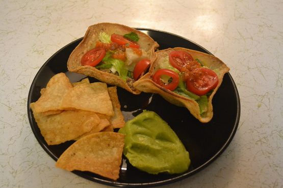 Make and share this How to Make Baked Taco Salad Shell Bowls recipe from Food.com.