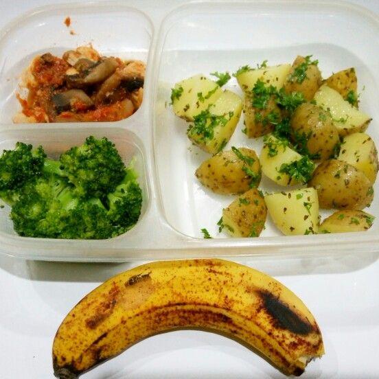 Lunch box diet menu day #3