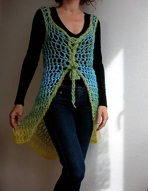 crocheted vest if interested, please contact me