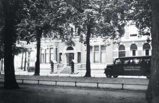 Groningen 1940-1945 OrtsKommandantur Ubbo Emmiussingel