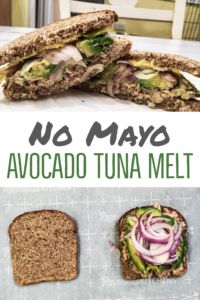 This healthy avocado tuna melt has no mayonnaise, no butter, no oil, and no sugar! It's loaded with over 20 grams of protein, and is full of fiber and omega-3's! It's oven-toasted, making it the perfect mid-day munch, or a delicious dinner!
