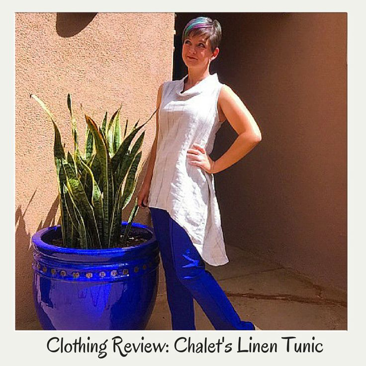 Clothing Review Series: Chalet's Linen Tunic styled four ways.