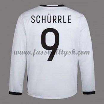 Günstige Fußballtrikots Deutschland Nationalmannschaft 2016 Schurrle 9 Heimtrikot Langarm