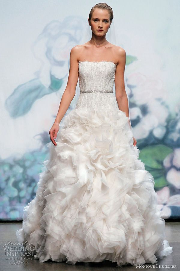 Monique Lhuillier Wedding Dresses Fall 2012