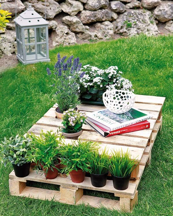 Outside Firewood Storage Ideas | DIY wood pallet furniture ideas - 4 easy projects for home and garden