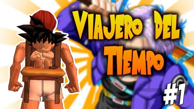 VIAJERO DEL TIEMPO!!! - GOKU CAE A LA TIERRA - Time Rift #1 // SankDES