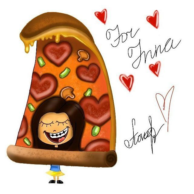 #pizza #drawing_pizza #digital_art #pizzawith love #illustration #cartoon_illustration #inspiration #food_drawing #yummy #love #пицца #иллюстариция #вкуснятина #приятного_аппетита #рисунок_на_заказ