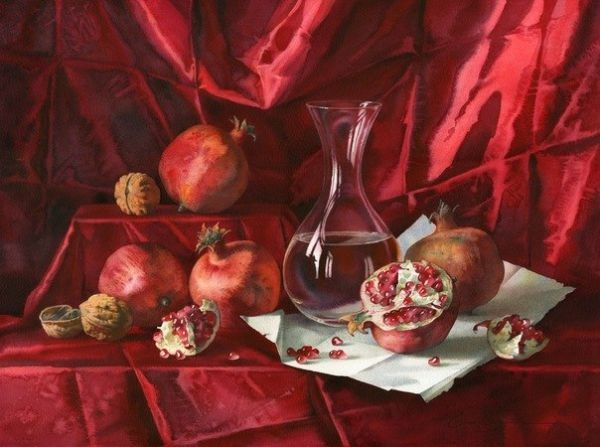 elena-bazanova-red-on-red-2011-watercolors-1373005270_b.jpg 600 × 447 pixlar